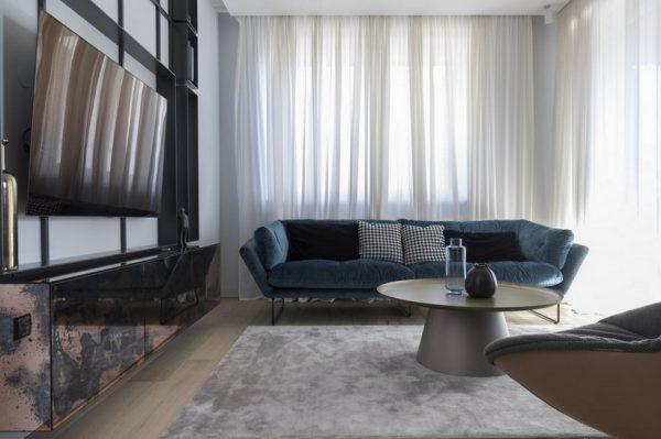 Ispreplitanje modernog i klasike u jednom zagrebačkom obiteljskom stanu od 120 kvadrata