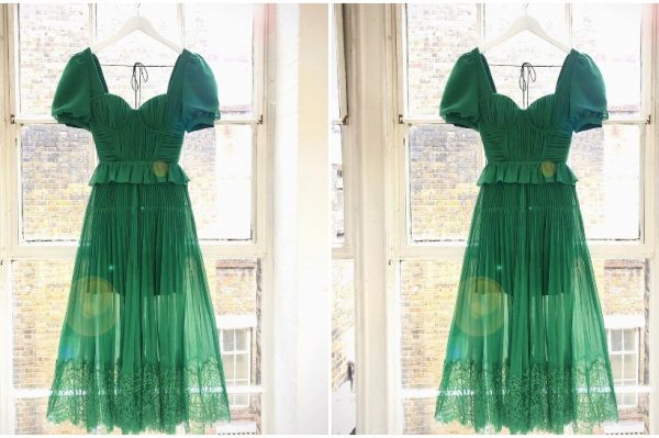 Nova Self-Portrait haljina u najljepšoj nijansi zelene