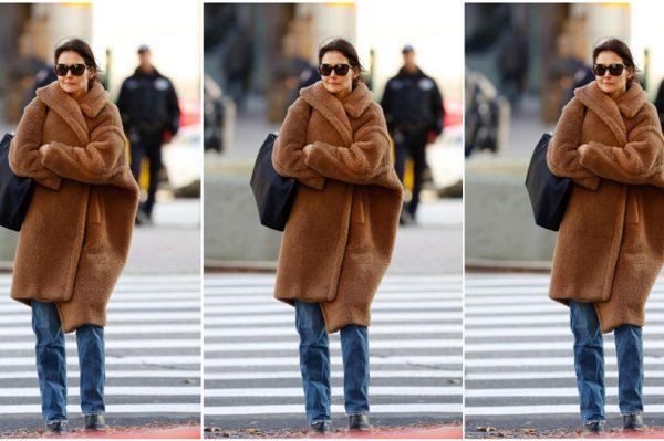 Street style inspiracija: Katie Holmes nosi tri savršena kaputa koje svaka žena treba