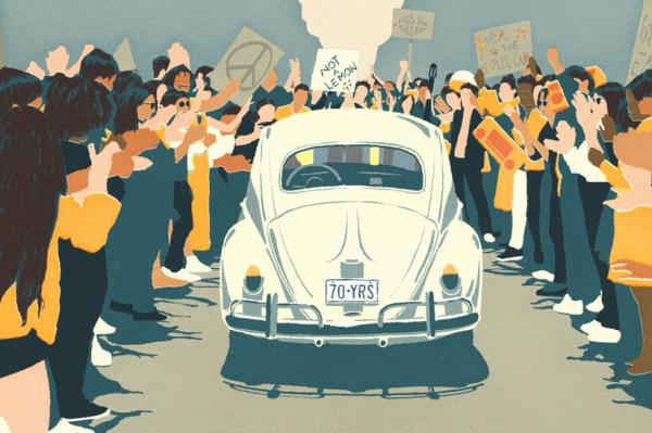 Journal Man: Volkswagen se oprostio od legendarne Bube dirljivim animiranim videom
