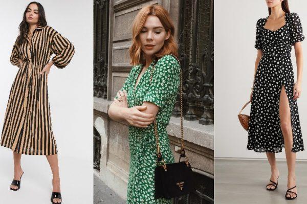 Prugaste, točkaste ili cvjetne – 32 haljine za savršeni početak proljetne garderobe