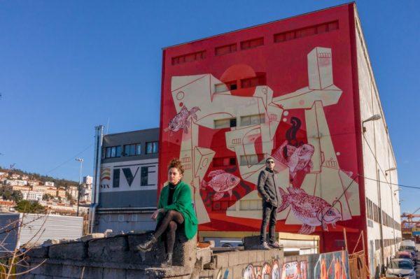 Rijeka je dobila fascinantni mural koji najavljuje festival street arta