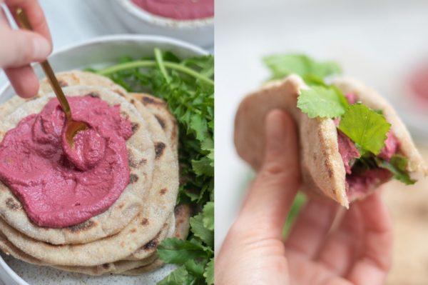Kriška i po: Hummus od cikle i tanki kruščići od batata kao ideja za vikend ručak