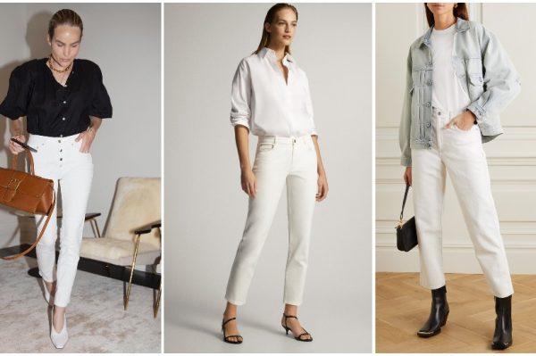 7 savršenih: najbolje bijele traperice za novu toplu sezonu