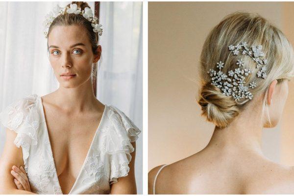 Romantični ukrasi za kosu su savršen dodatak svakom 'wedding looku'