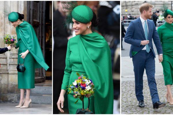 Elegantan styling obilježio je posljednje kraljevsko pojavljivanje Meghan Markle