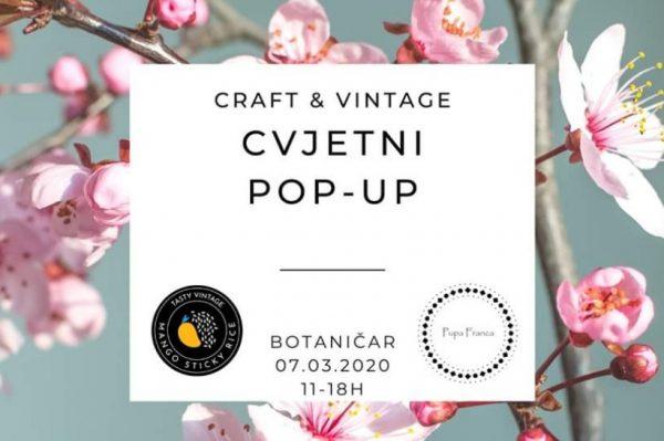Craft & vintage subota u Botaničaru