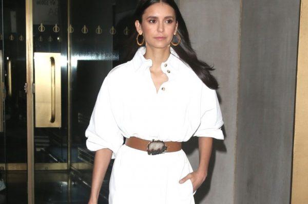 Street style inspiracija: Nina Dobrev nosi bijelu haljinu