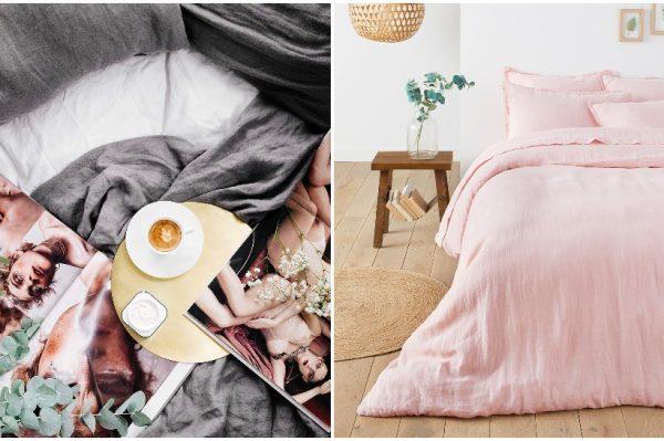 Prekrasne lanene posteljine za proljetnu transformaciju spavaće sobe i najugodniji san