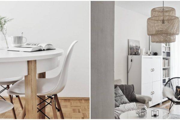 Oduševio nas je ovaj prekrasan stan u skandi-stilu uređen uz ograničeni budžet