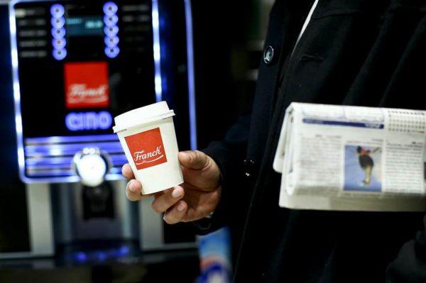 Uživajte i dalje u šalici omiljene Franck kave za van na više od 1000 lokacija