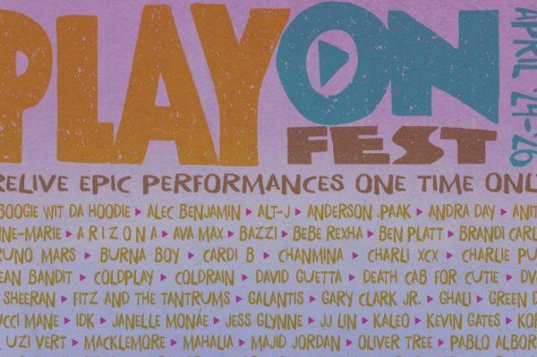 Uživajte u spektakularnim nastupima super zvijezda na najvećem virtualnom festivalu PlayOn Fest