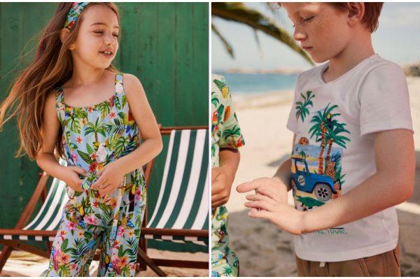 Stigla je H&M-ova šarena, ljetna kolekcija za djecu