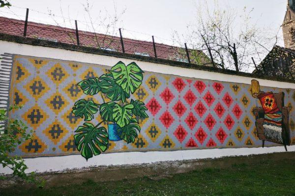 """Nekome je i park doma"" novi je mural na zagrebačkoj Opatovini"
