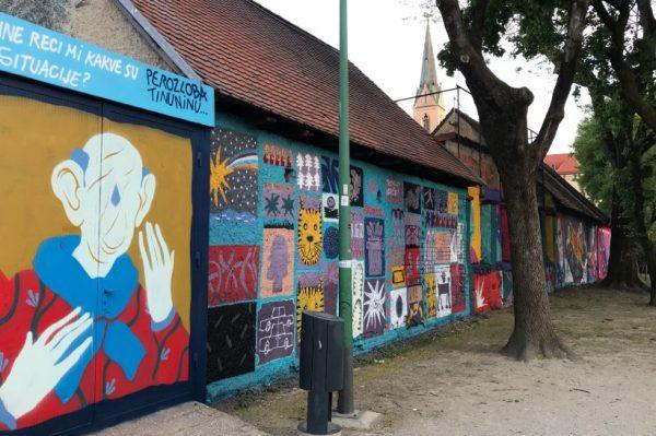 Prošetali smo Opatovinom i oduševili su nas novi murali zagrebačkih umjetnika