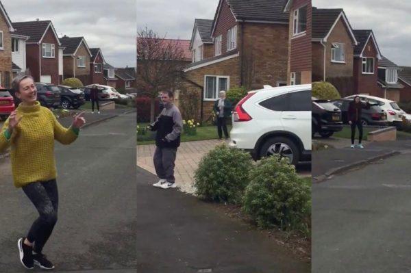 Video dana otkriva nam susjede u jednom kvartu kako zajedno plešu uz hit Toma Jonesa