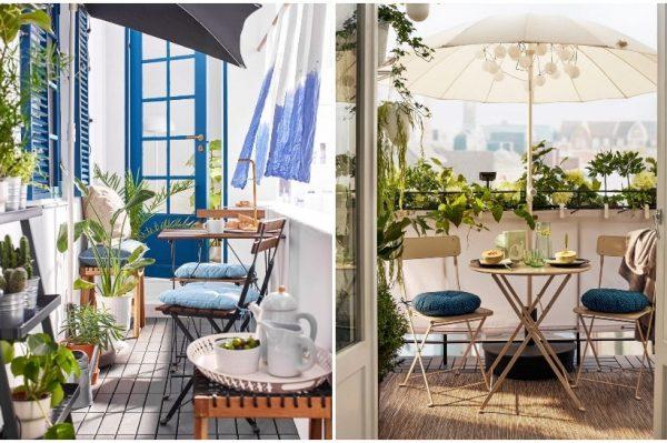12 fora ideja kako urediti svoju terasu ili balkon