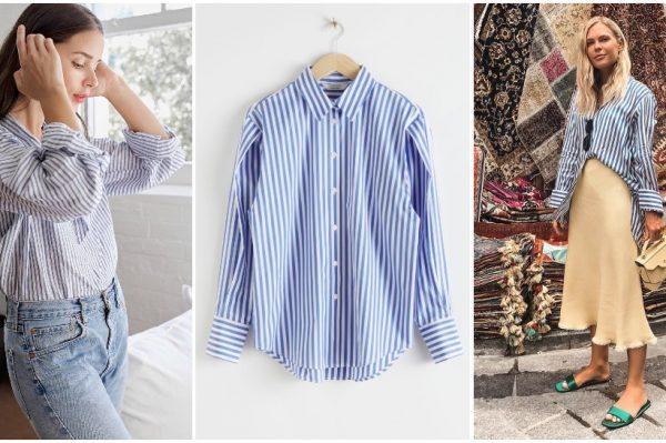 Prugasta košulja je još uvijek jedan od ultimativnih modnih favorita