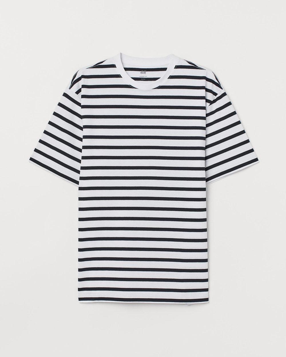 H&M mornarska majica ljeto 2020 2