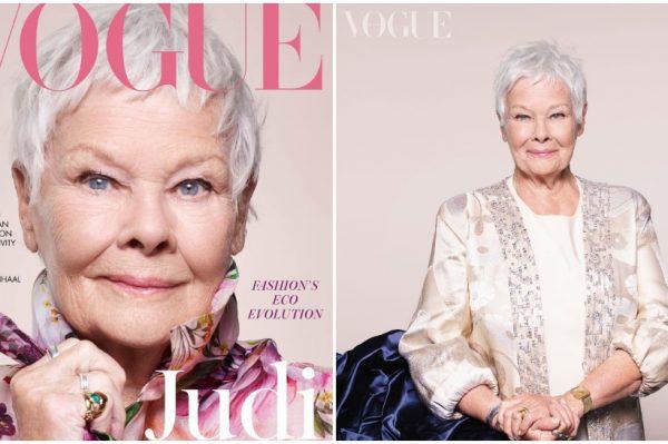 Legendarna Judi Dench je heroina nove naslovnice britanskog Voguea