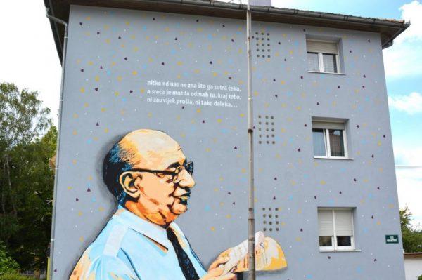 Novi murali na karlovačkim pročeljima djelo su Leonarda Lesića i Dalibora Jurasa