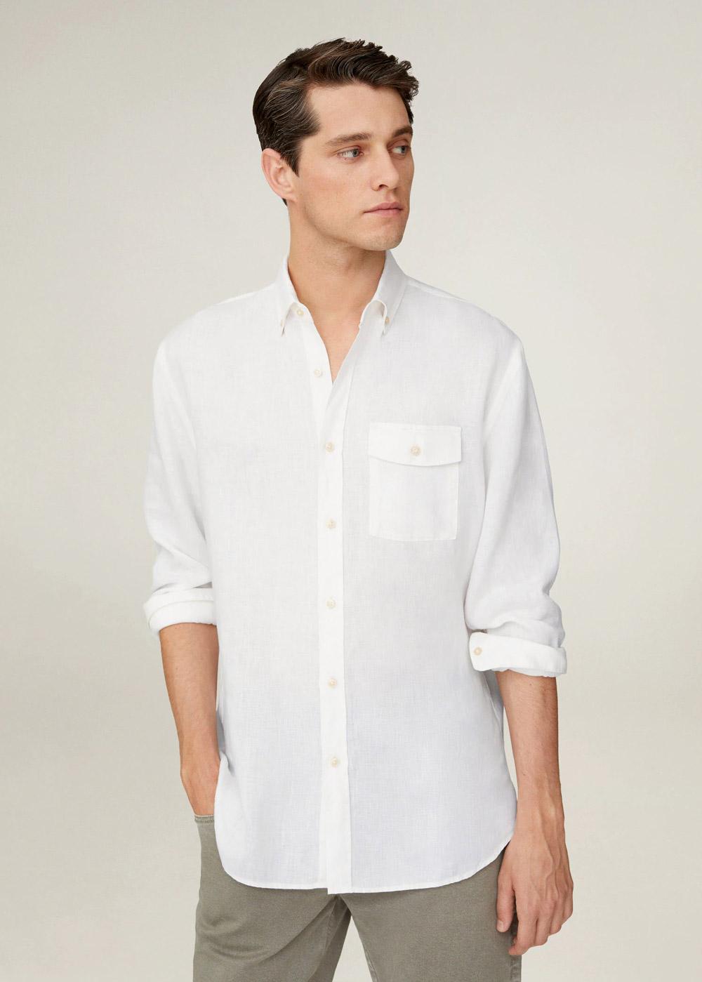 Mango bijela košulja ljeto 2020