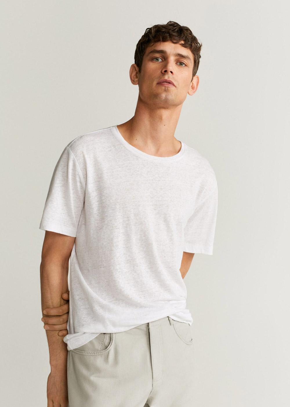 Mango bijela majica ljeto 2020 2