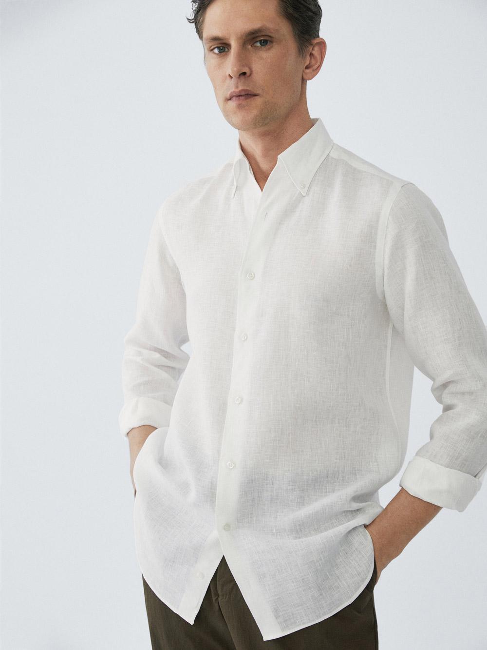 Massimo Dutti bijela košulja ljeto 2020