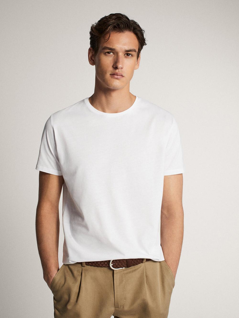 Massimo Dutti bijela majica ljeto 2020 2