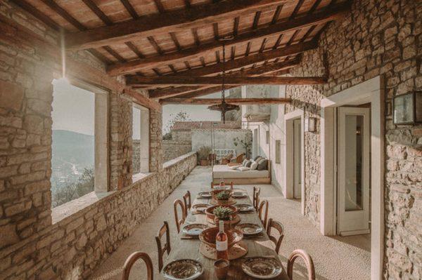 Nestvarno lijepa kamena vila u Motovunu je stvorena za bajkoviti odmor