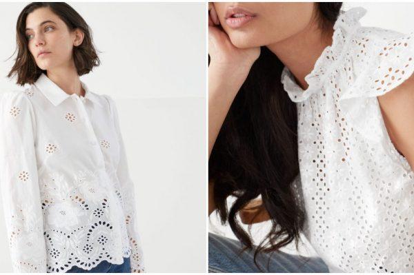 Bijela rupičasta bluza i dalje je jedan od najpoželjnijih komada za ljeto