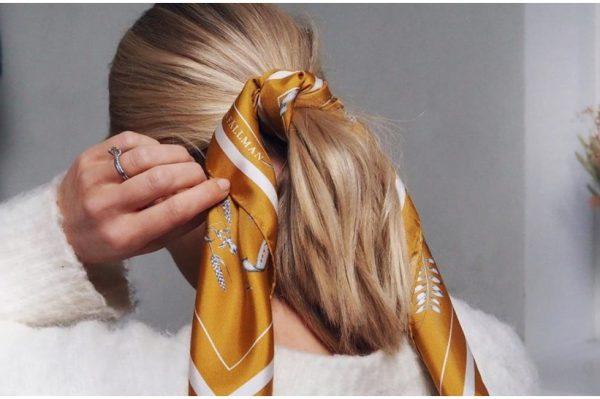 Evo kako maramom možete spasiti frizuru kad imate bad hair day