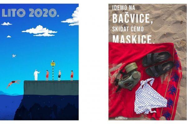 Kako će izgledati Lito 2020.? Nasmijte se uz ove plakate i ilustracije