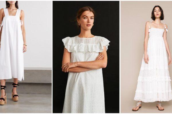 Ljeto u znaku lijepih bijelih haljina