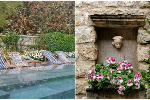 Skriven od pogleda: Rajski vrt s bazenom koji gleda na dubrovačke zidine