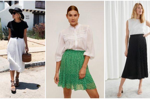 Plisirana suknja u 40 divnih modela za proljetne i ljetne dane