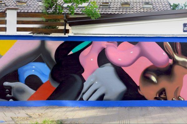 Pogledajte atraktivan mural novosadskog umjetnika Tonya Stara