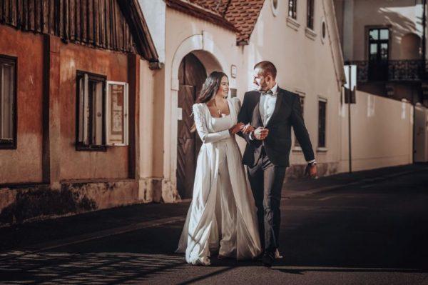 Kako je izgledalo jedno vjenčanje na praznim ulicama  Zagreba?