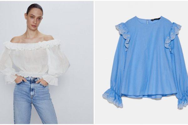 Najljepše Zara bluze koje ćemo nositi cijelo ljeto