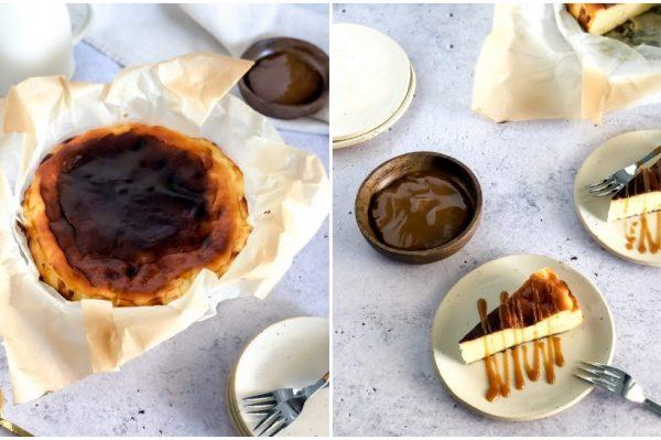 Bake me by Nina: Baskijski cheesecake – savršeno kremast kolač specifičnog izgleda