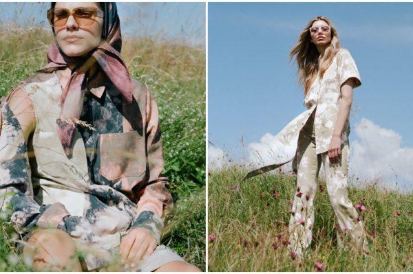 Tie dye uzorak u središtu ljetne kolekcije modnog brenda KLISAB