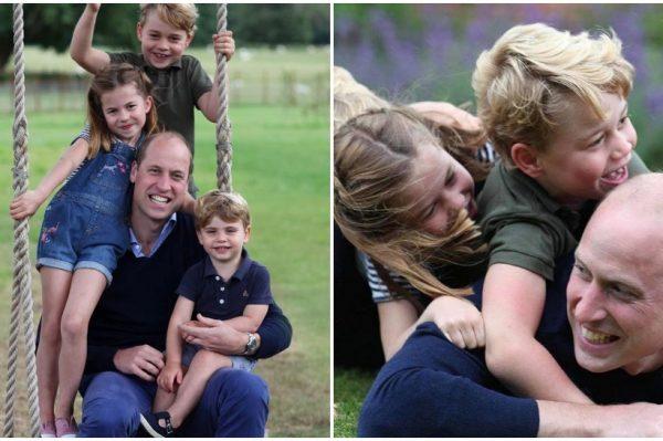 Najslađi novi portreti kraljevske obitelji povodom rođendana princa Williama