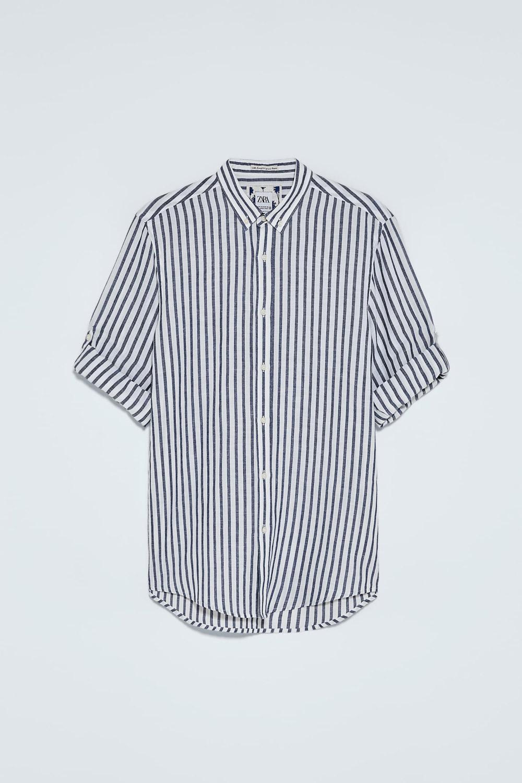 Zara košulja na pruge ljeto 2020 3