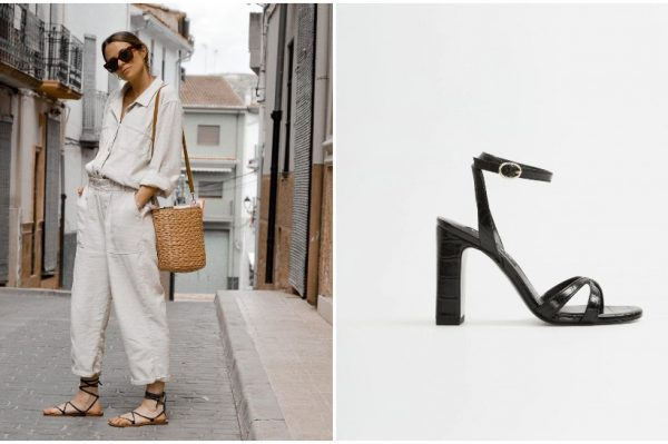 Crne sandale u 40 trendi modela za ljeto