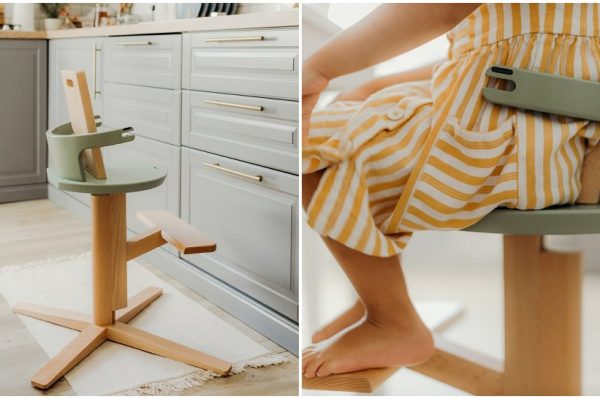 Ovaj slovenski brend kreira kul i praktične stolice za hranjenje koje rastu s vašim djetetom