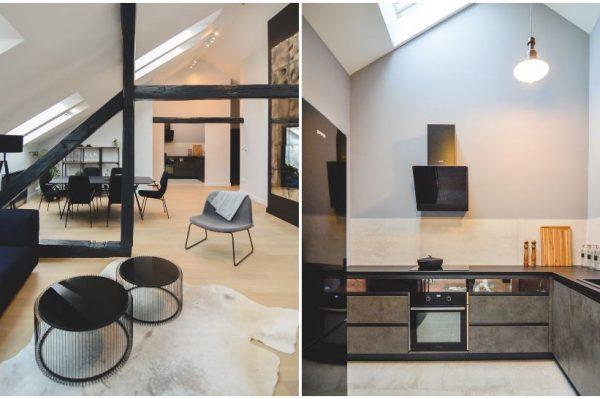 Moderan stan inspiriran minimalizmom i industrijskim stilom