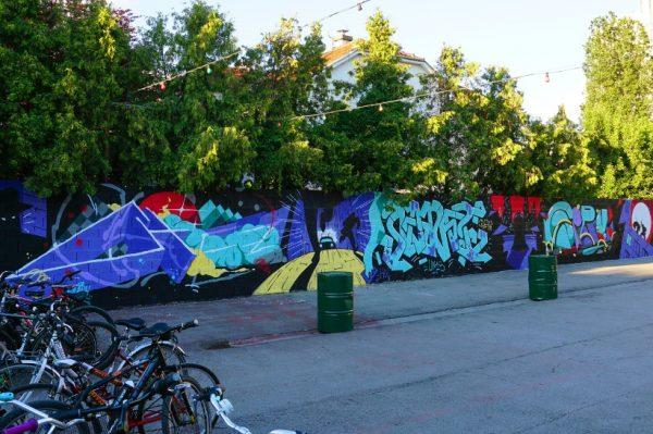 Novi murali krase zidove omiljenog zagrebačkog kluba Vintage Industrial Bara