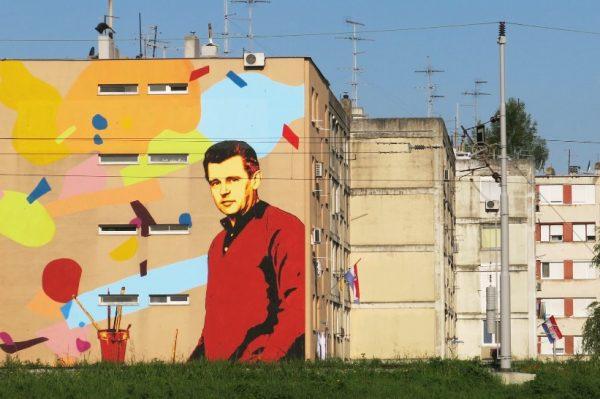 Re:Think Sisak: Mural Leonarda Lesića prvi je od pet na sisačkim ulicama