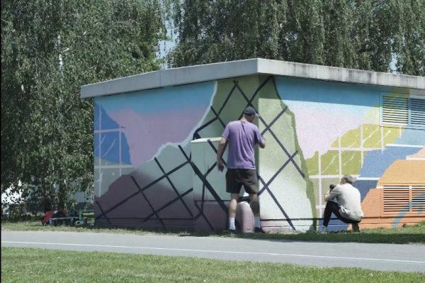 Zagreb je dobio nove precool oslikane trafostanice