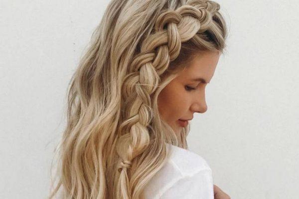 Pletenice su uvijek dobra ideja za stylish ljetnu frizuru
